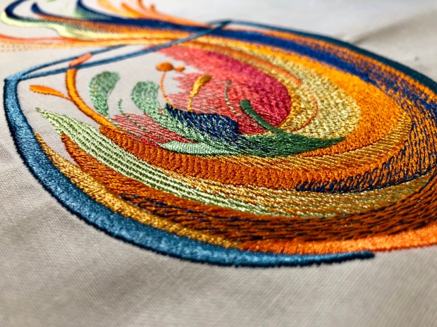 My First Full Size Embroidery Design! – Sweet Blog Things